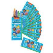 Bubble Guppies Crayon Favors 12 Count-2Pack -