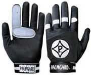 Palmgard Black Youth/Women's Protective Baseball Glove - (Worn on Left Hand) Black Protective Baseball Glove