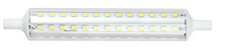 Maslighting 187841 - Linear LED Lamp, R7s, 15 W, 138 mm, 3000 K, 1500 lm, 360º.