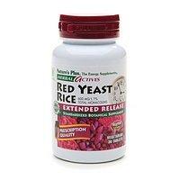 Plus de la nature - levure de riz rouge Extended Sortie, 600 mg, 30 comprimés