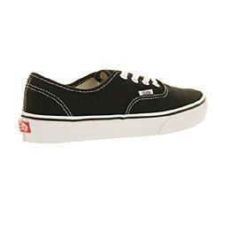 Vans Authentic, Zapatillas de skateboarding Unisex Noir - Black White