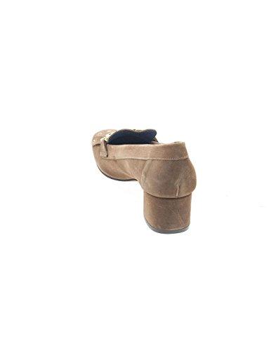 HUMAT Women's Loafer Flats Brown 5Rztx