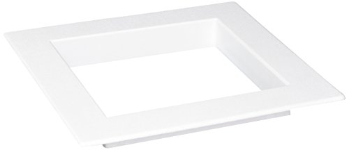 Faceplate Box - Oatey 38942 Supply Box Square, Plastic Faceplate, 8.25
