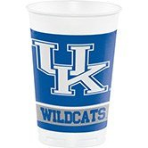 96 NCAA Kentucky Wildcats Plastic Drinking Tailgate Party Cups - 20 Ounces