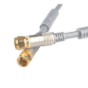 BIGtec – 3,75 m Sat Cable de conexión Sat Cable SAT Antena Cable F