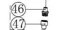 PIGNONS POUR BINEUSE ELECTRIQUE FLORABEST FGH 750 B2