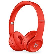 Beats S/o/l/o_3 Wireless On Ear Headphones with Carrying Case (Black-Red)