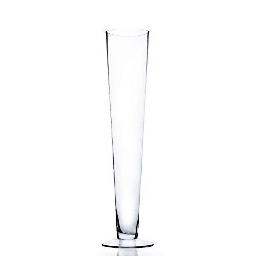 WGV Trumpet Pilsner Vase H-24, Open D-4.5