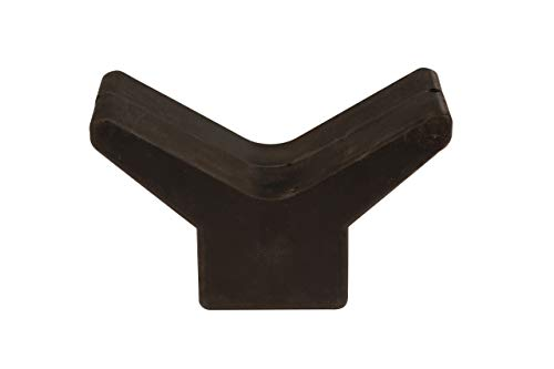 attwood 11201-1 Trailer Boat Rubber Bow 3x3 Y-Stop, Black ()