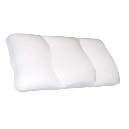 Deluxe Comfort MicroBead Cloud Pillow - Feels Like Sleeping on a Cloud - Contour Cloud Pillow with Microbeads - Hypoallergenic - Used for Aches and Pains - Removable Zipper Cover - Bed Pillow, Large