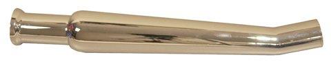 EMGO Chrome Upsweept Right Side Bell Megephone Muffler 80-84011