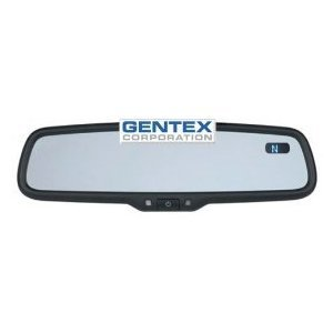 gentex genk5am auto dimming mirror with compass display and improved color coded aftermarket harness