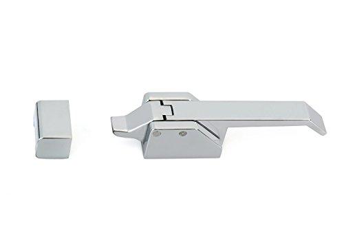 Richelieu Hardware BP858352140 Contemporary Metal Ice Box Latch, 5.13
