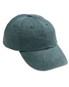 Anvil 145 6-Panel Pigment-Dyed Cap - Pine - One Size by ANVIL MARK