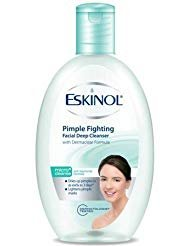 Eskinol Pimple Fighting Facial Deep Cleanser with Anti-Bacterial Formula 225mL ()