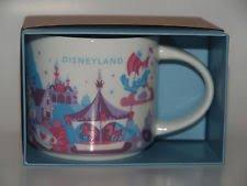 Disneyland Fantasyland Theme Starbucks mug