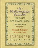 A Mathematics Sampler : Topics for the Liberal Arts, Berlinghoff, William P. and Grant, Kerry E., 1880157020