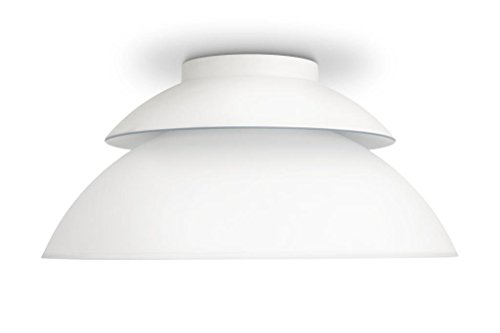 Philips 798108  Hue Beyond Dimmable LED Smart Ceiling Light (White, Compatible with Amazon Alexa, Apple HomeKit, and Google Assistant)