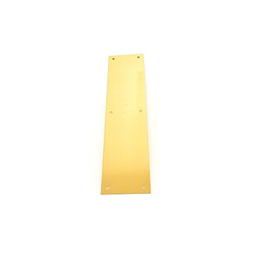 Ives Commercial PPLATE.10009 Brass Push Plate by Ives Commercial