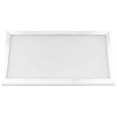 Commercial Electric 74030 1 ft. x 2 ft. White LED Edge-Lit Flat Panel Flushmount