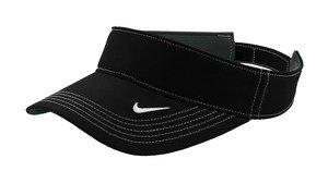 NIKE Golf - Dri-FIT Swoosh Visor, 429466, Black, No Size by Nike