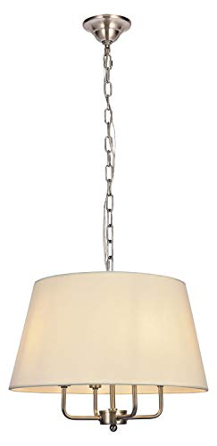 Maple 4-Light Pendant in Burnished Nickel
