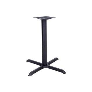 Flash Furniture 22'' x 30'' Restaurant Table X-Base with 3'' Dia. Table Height Column by Flash Furniture (Image #1)