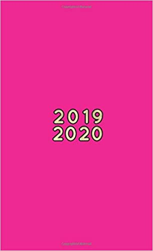2019-2020: Two-Year Pocket Planner | Mini 4 x 6.5