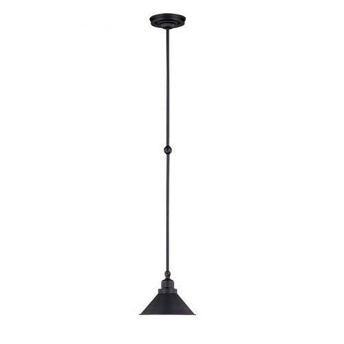 Nuvo Lighting 60/1708 Mission Dust Bronze Bridgeview 1 Light Mini Single Pendant -by# buildinc ()