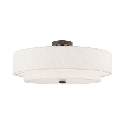Amazon.com: Livex 52139-92 Meridian 5 - Lámpara de techo ...