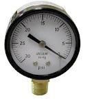 2-Inch Bottom Mount Pool Vacuum Gauge (0-30 HG), Appliances for Home