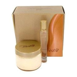 (Treselle by Avon Gift Set -- 4.2 oz Body Souffle .2 oz Touch on Perfume Rollette)
