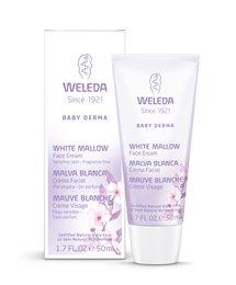 Crema facial de Weleda - bebé Derma - blanco malva - 1.7 Oz