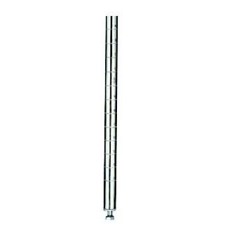 """Review Nexel  Post For Wire Shelving, Silver Epoxy Finish, 54""""H By Nexel by Nexel"""
