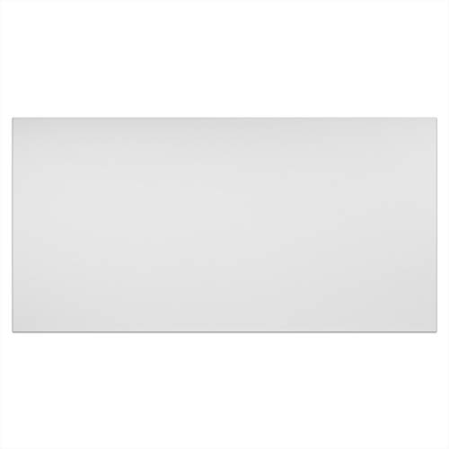 (Genesis Easy Installation Smooth Pro Lay-In White Ceiling Tile/Ceiling Panel, (2' x 4' Tile) (Pack of 10))
