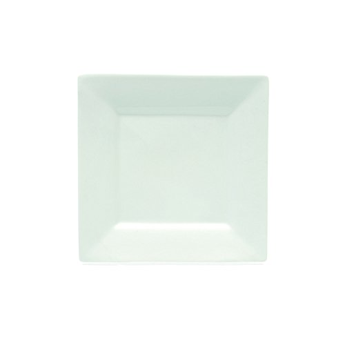 Maxwell and Williams Basics Square Side Plate, 7.5-Inch, White