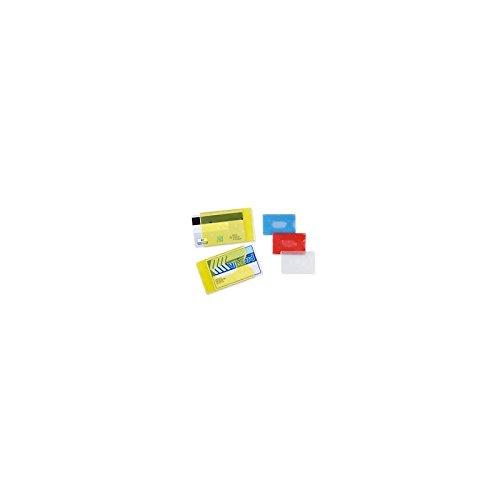 Porta tessere portacard in plastica rigida per carte di credito e tessera magnetica (20 pezzi) Agendepoint.it