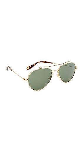 Givenchy Women's Aviator Sunglasses, Gold/Green, One - Sunglasses Aviator Givenchy