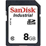 Industrial Grade Memory Card - SanDisk 8GB Industrial MLC SDHC UHS-I Class 10 SDSDAF3-008G-I Bulk (5 Pack)