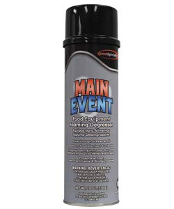 5260 MAIN EVENT Food Surface Cleaner Degreaser, 12/Case (6 Cases)