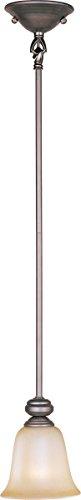 Madera Mini Chandelier - Mini Pendants 1 Light Bulb Fixture with Oil Rubbed Bronze Finish Metal Material Medium Bulbs 6 inch 100 Watts