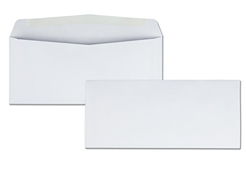 Quality Park #10 Park Preserve Envelope, 4 1/8 X 9 1/2 Inches, White, 1000 count box (90020B) by Quality Park