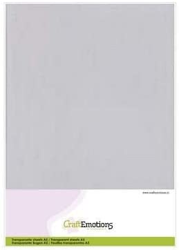 Cardmaking Pack of 10-0.25 Micron 3.1010 JEJE A5 Acetate Sheets