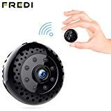 Hidden Spy Camera, FREDI Mini WiFi HD 1080P Wireless Security Nanny Cam for...
