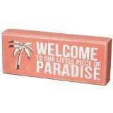 - Beach-distressed Box Sign-
