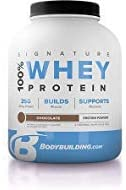 Bodybuilding Signature 100 Whey Protein Powder 25g of Protein per Serving Chocolate, 2 Lbs