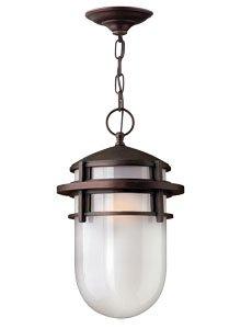 Hinkley 1952VZ Reef Cast Aluminum Outdoor Ceiling Lighting,Bronze