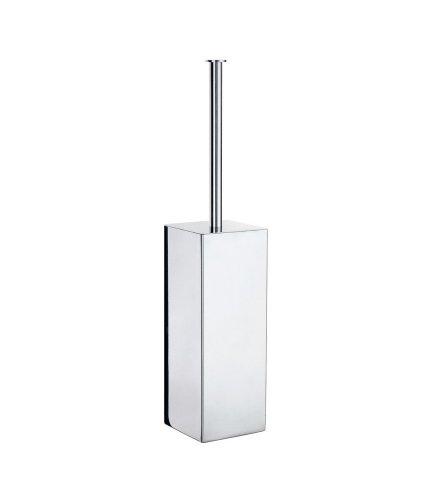 Smedbo Brush Toilet Outline (Smedbo FK601 Outline Lite Collection Toilet Brush Stainless Steel Polished)