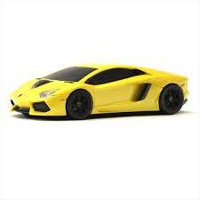 Price comparison product image LamborghiniLP700 Wireless Optical Car Mouse Blue LED 1750dpi LB-LP700-4-YL
