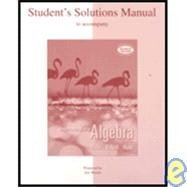 Student Solutions Manual Intermediate Algebra 2nd edition by Miller, Julie (2007) Paperback
